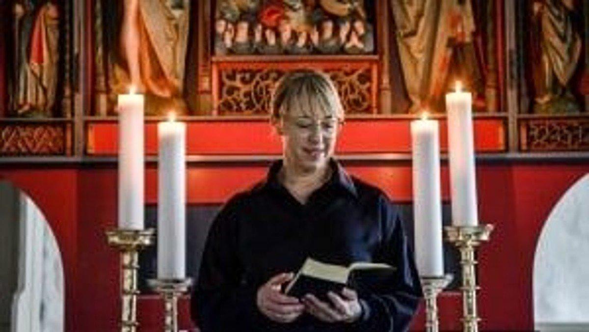 Kort andagt med indsættelse af sognepræst Malene Freksen - Gudstjenesten denne dag er kun for inviterede
