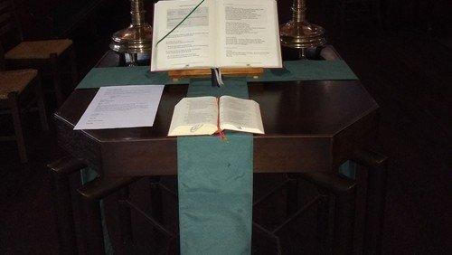 Gottesdienst mit Pastor Baltrock