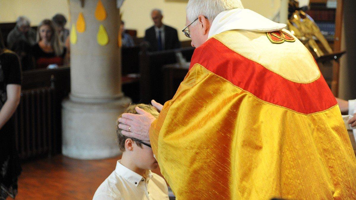 Trinity Sunday - Confirmation service
