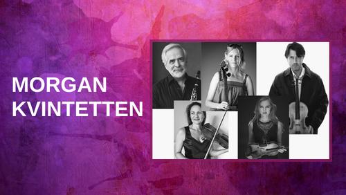 Koncert med den verdensberømte kvintet Morgan-kvintetten