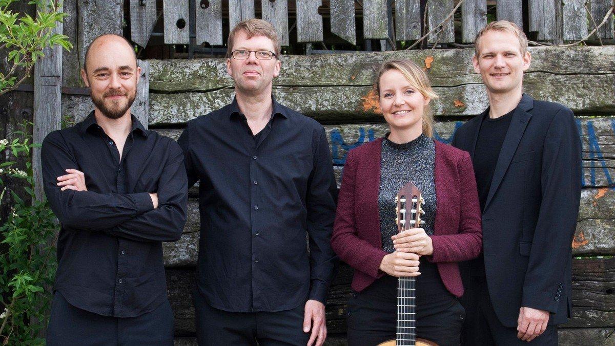Koncert m. Den  Danske Guitarkvartet