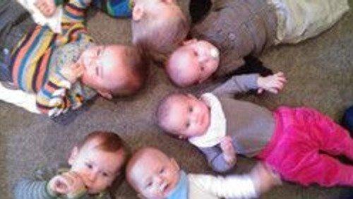 Babysalmesang i Fensmark Kirke ( Opstart )