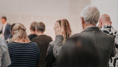 Gudstjeneste med gæstetaler - Peter Hedelund