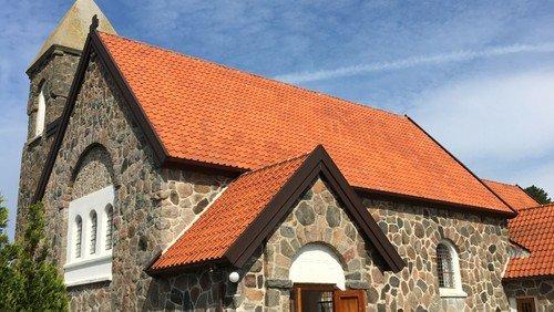 Gudstjeneste i Lynæs Kirke ved Lotte Grønborg, Kristi Himmelfart, Markusevangeliet kapitel 16, vers 14-20