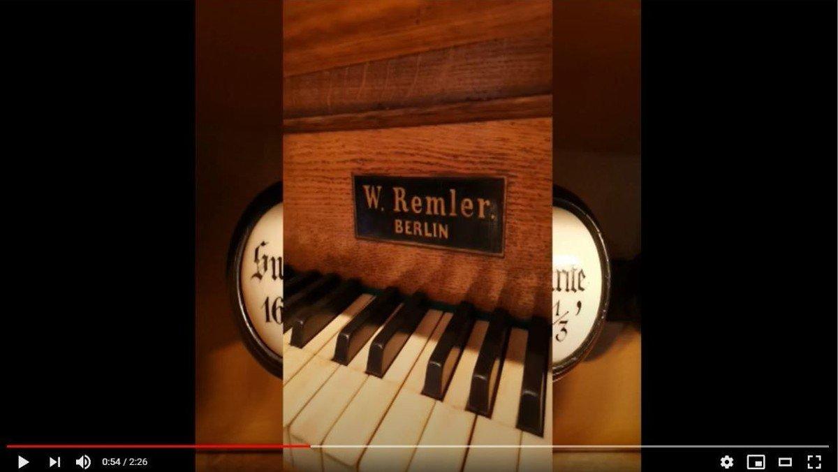 Orgelband DIGITAL in Schulzendorf: Die Remler-Orgel