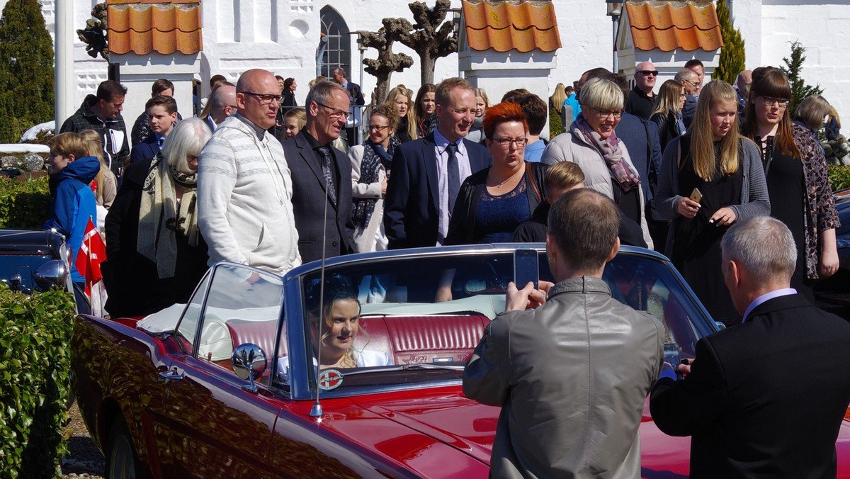 Konfirmationsgudstjeneste 1/ v. Bente Hjul Johannessen