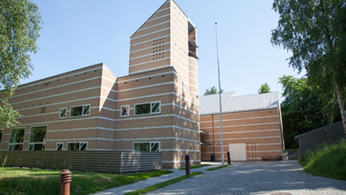 Friluftsgudstjeneste ved Egedal Kirke