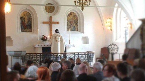 Højmesse v/ menighedsrådsformand Kai Lund og Jens Kaltoft
