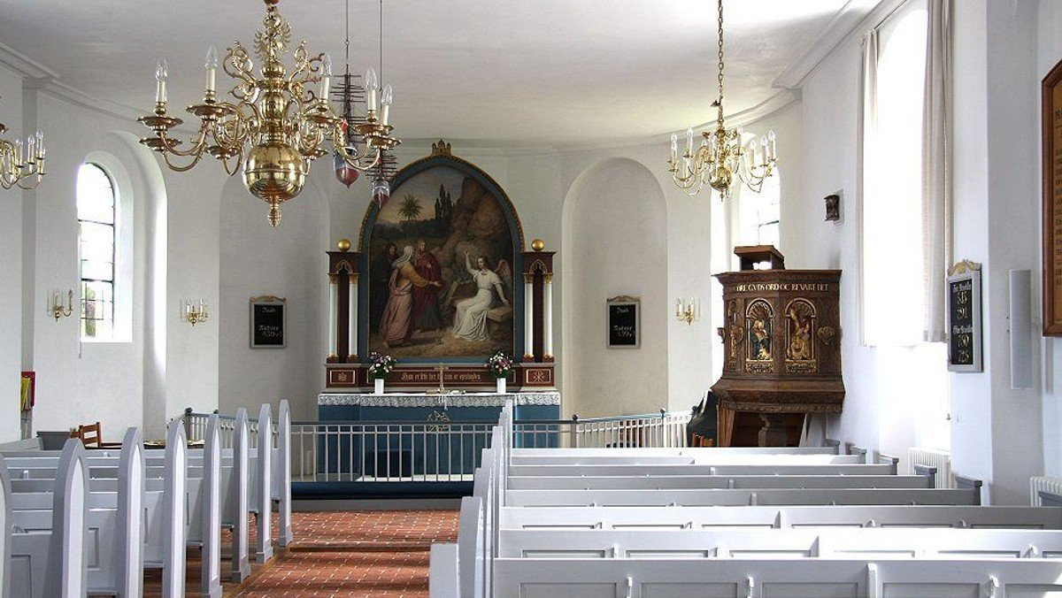 AFLYST   -   Kirkebesøg; Gilleleje kirke