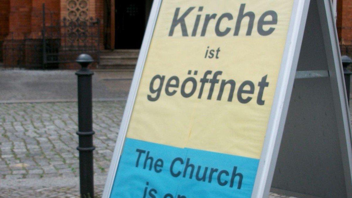 Offene Kirche Samstag von 11-13 Uhr