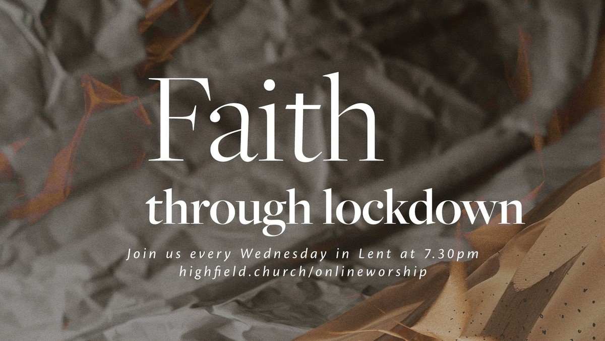 Faith through Lockdown