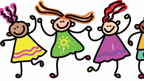 Hyggeposer med kreative opgaver for børn