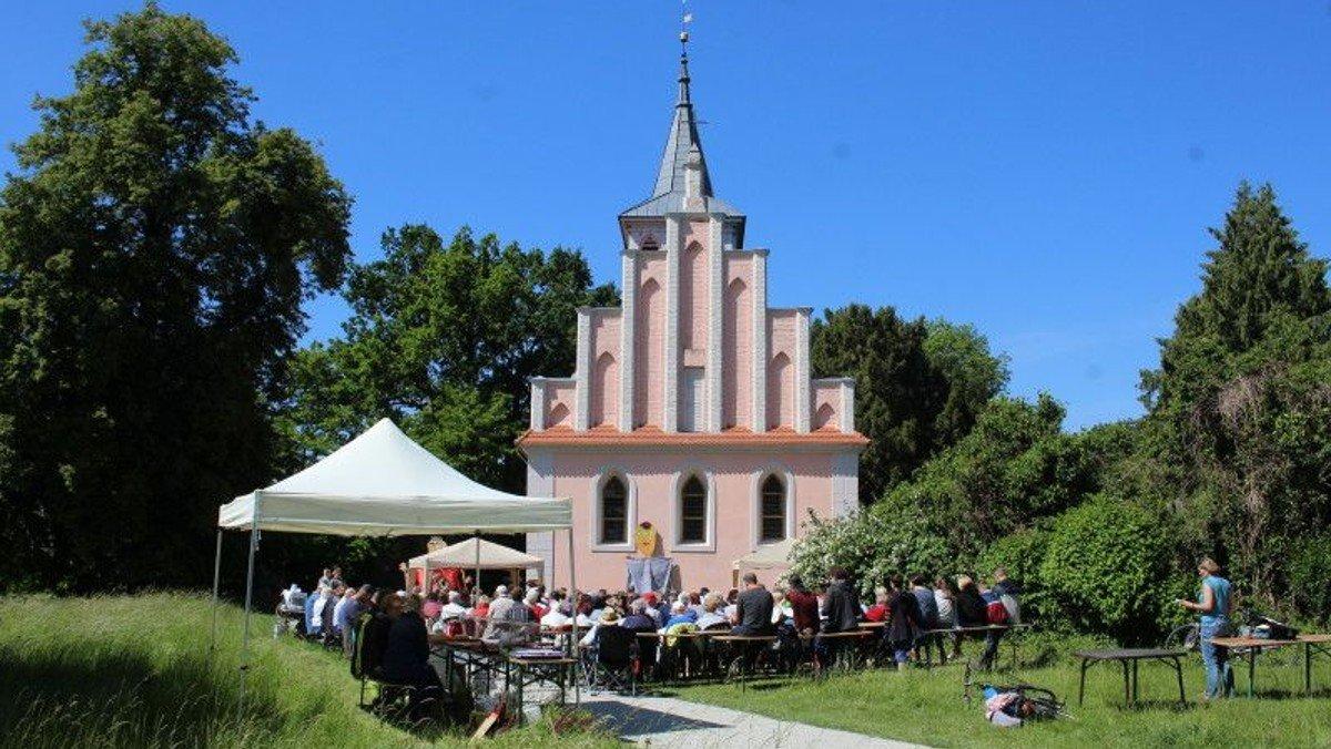 Open Air Himmelfahrts-Gottesdienst in Criewen