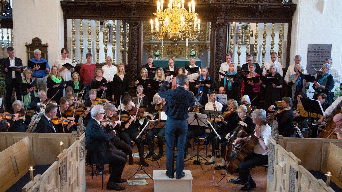 Kor- og Orkesterkoncert