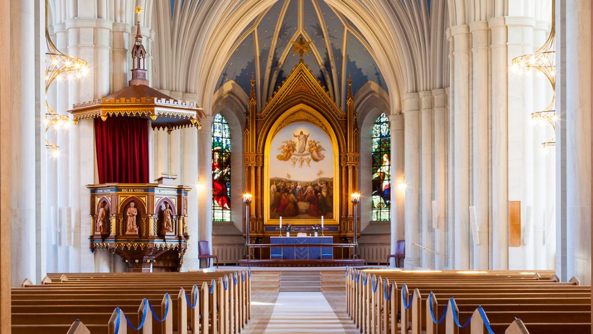 Høstgudstjeneste i Sankt Johannes Kirke