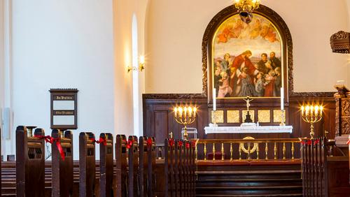 Højmesse i Simeons Kirke + konf velkomst
