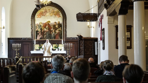Højmesse i Simeons Kirke