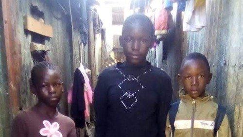 Børn, mad og kirke i Kenya