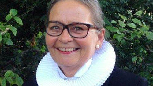 Afskeds-musikgudstjeneste for Hanne Rosenberg og reception i Sognegårdens Have