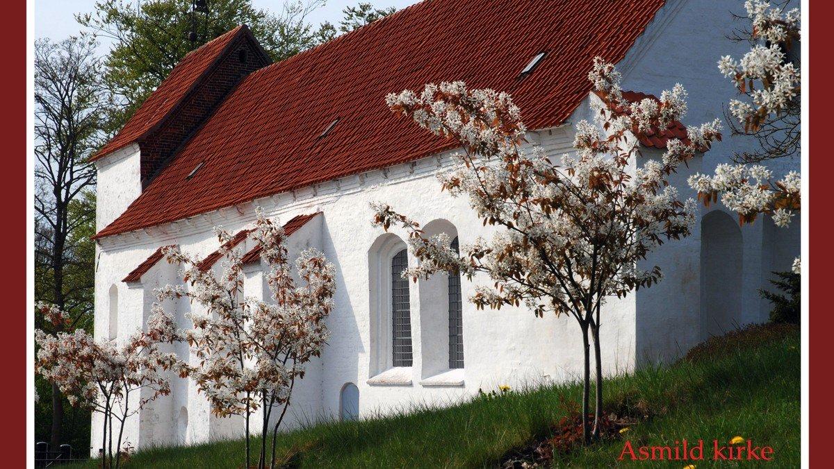 Nadvergudstjeneste i Asmild Kirke v. Lise Uhrskov