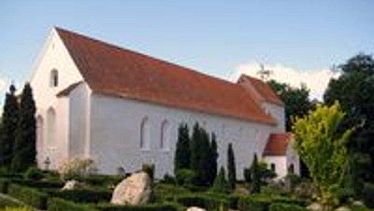 Højmesse i Asmild Kirke v. Per Bucholdt Andreasen