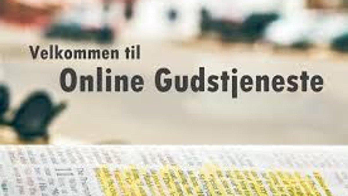 Online gudstjeneste - LIVE via Facebook