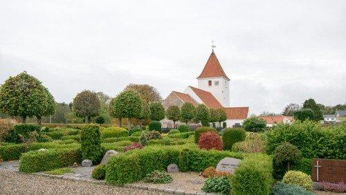 Gudstjeneste i Vester Hornum Kirke.