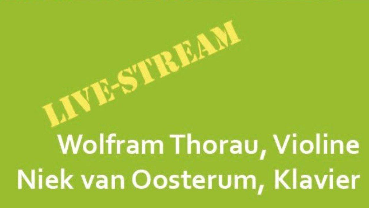 [Livestream] Frühlingskonzert mit Werken von Edvard Grieg und Isaac Albéniz