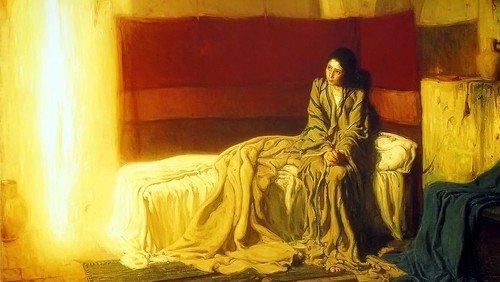 Gudstjeneste, Mariæ bebudelses dag, Luk. 1,26-38