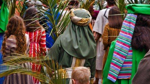 Gudstjeneste, Palmesøndag, Matt. 21,1-9