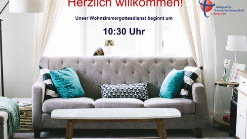 Wohnzimmergottesdienst - online