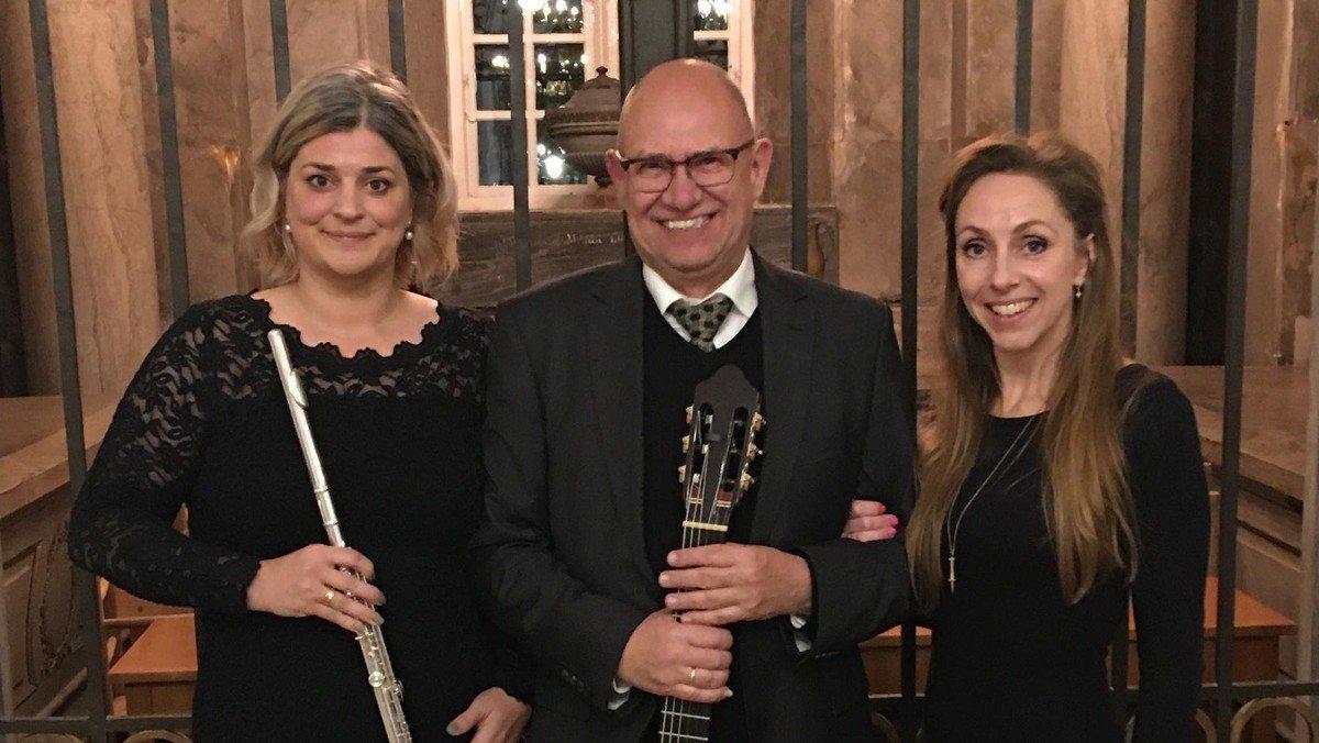 Koncert med Trio Brandt, Petersen og Svit