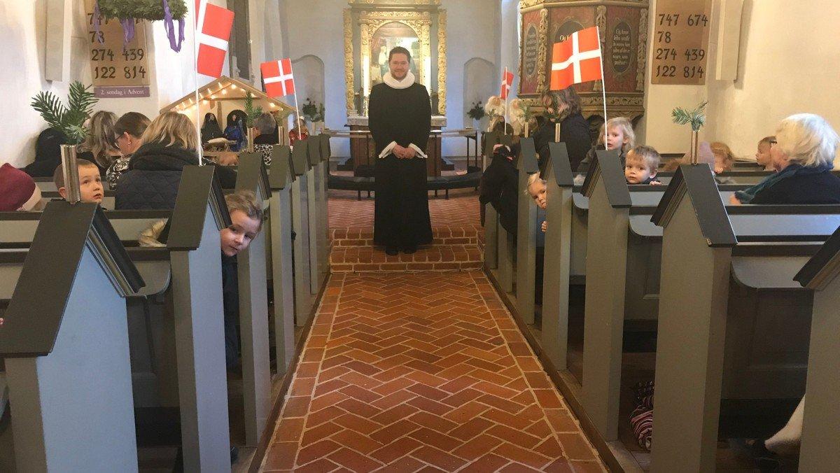 Kirke for de små i Hunderup