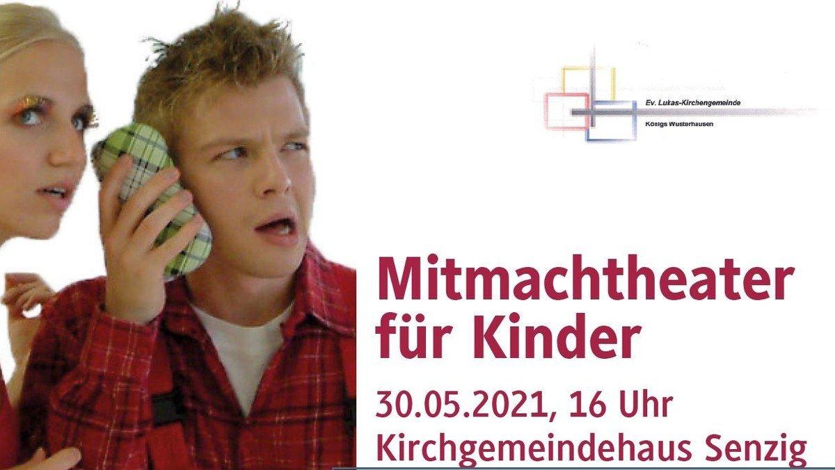 """ENTFÄLLT wegen der aktuellen Infektionslage! LUKAS KULTUR - Mitmachtheater für Kinder """"Meister Ton und die Reise nach Klingklang"""""""