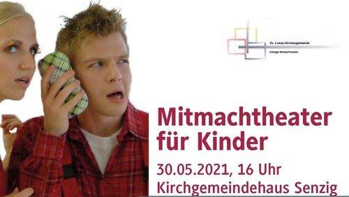 ENTFÄLLT wegen der aktuellen Infektionslage! LUKAS KULTUR - Mitmachtheater für Kinder