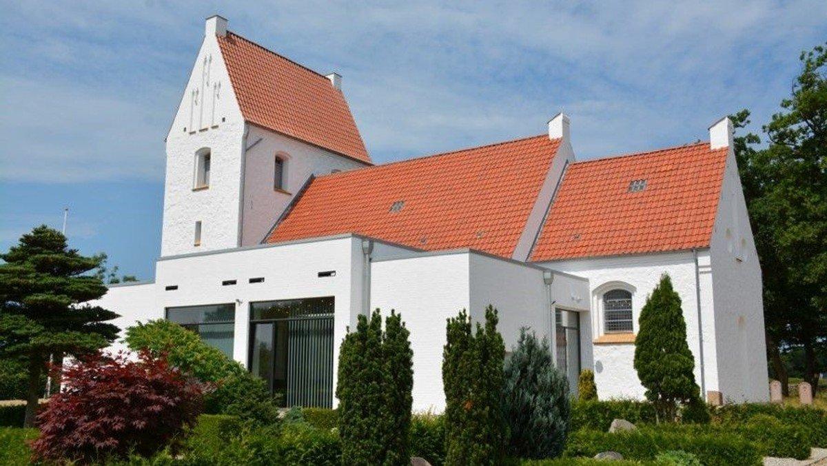 Gudstjeneste - høst - i Nøvling kirke