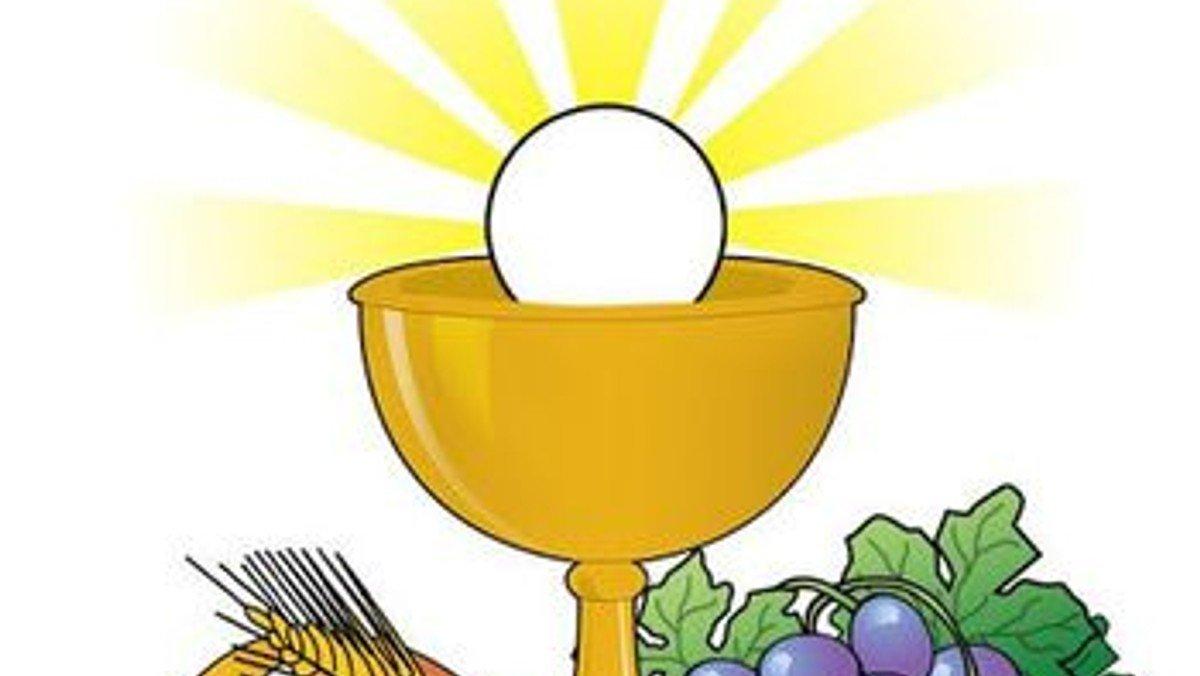 Probe für die Erstkommunionsfeier