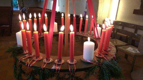 Gottesdienst zum 1. Advent mit Prädikant Dr. Hasse