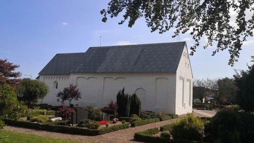 Højmesse med nadver i Ørum Kirke