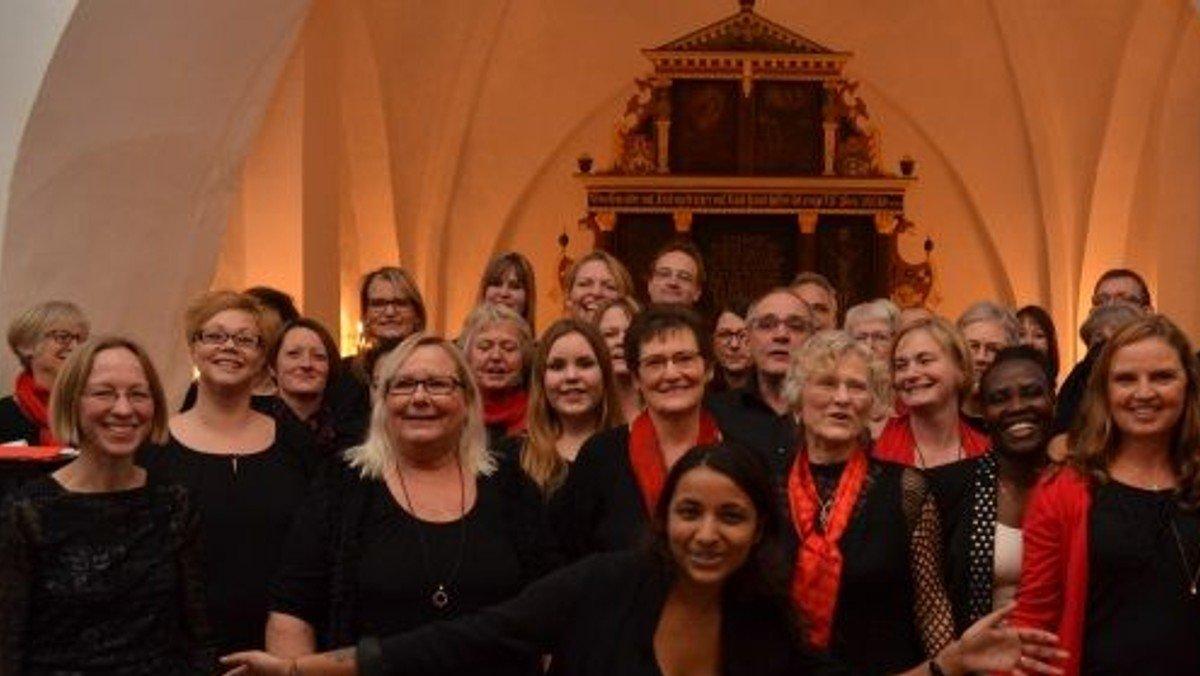 20 års jubilæumskoncert i kirken med Harte Gospelkor