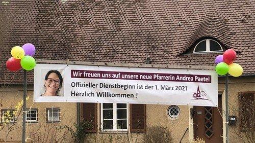 Gottesdienst mit Einführung Pfarrerin  Andrea Paetel in Konradshöhe