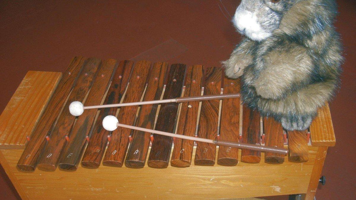 Musikalische Früherziehung im Pfarrgarten