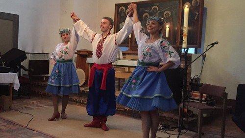 Konzert des ukrainischen Ensemble Sbrutsch