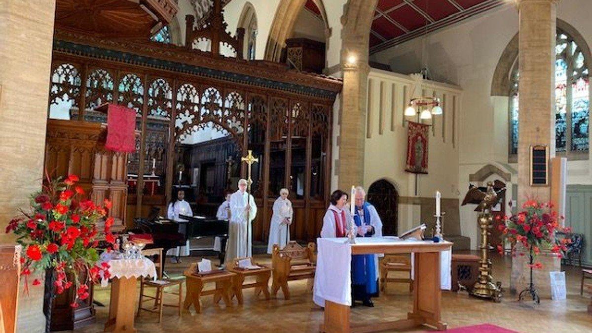 Parish Communion & Junior Church - Bishop Richard Preaching