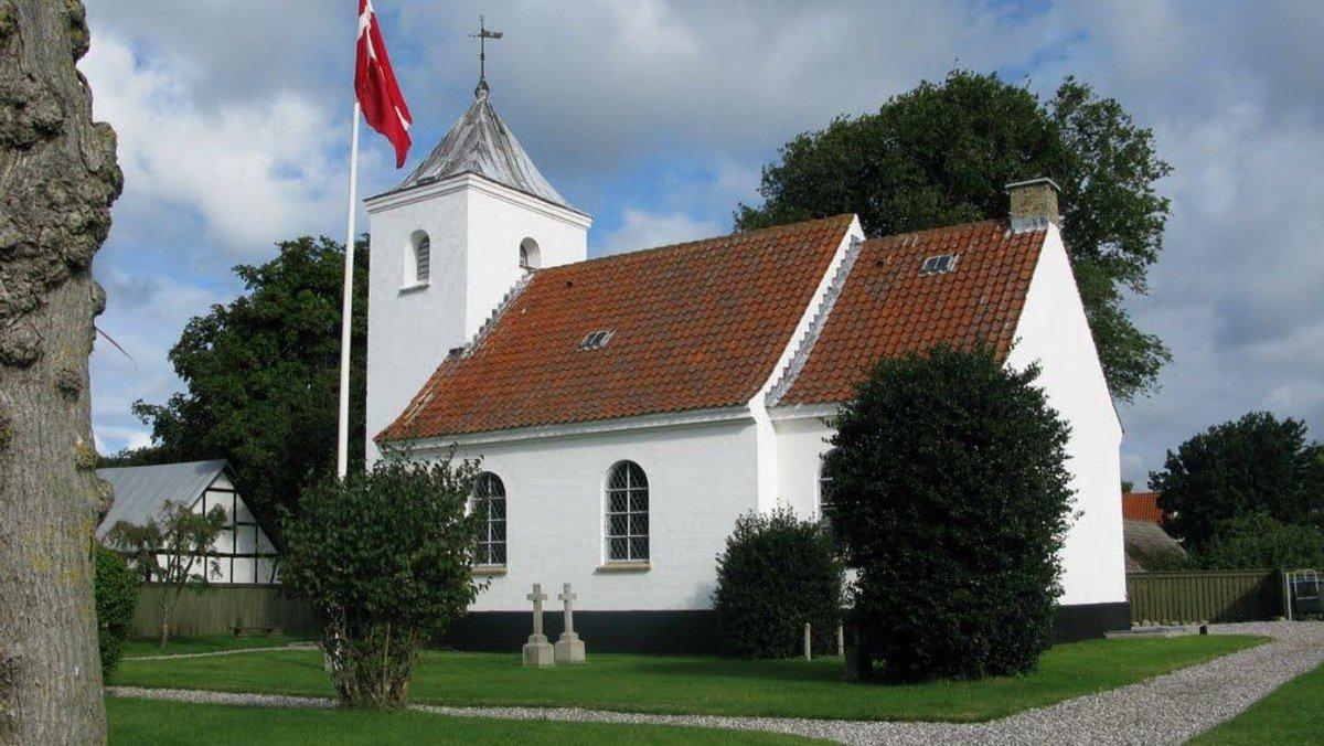 Gudstjeneste i Anholt Kirke