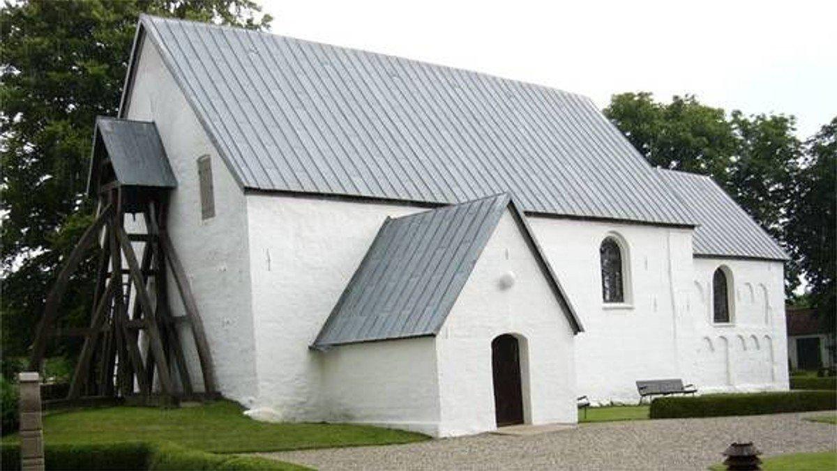 Gudstjeneste i Vinding Kirke