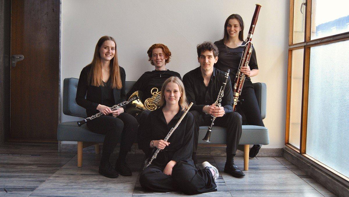 Koncert med Øresund Blæserkvintet