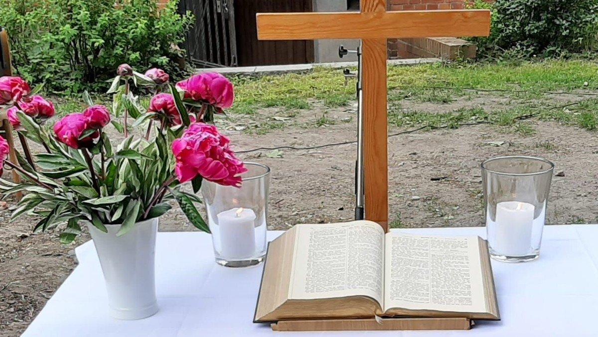 Gottesdienst zum Pfingstsonntag - bei gutem Wetter OPEN AIR