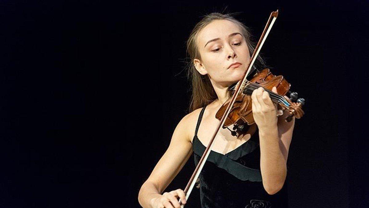 Koncert med violin og orgel