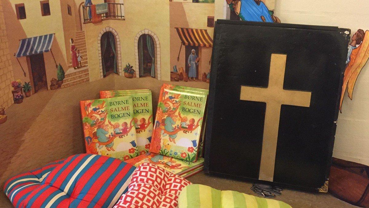 Med Jesus til Bords - børnevenlig gudstjeneste med fællesspisning i Sognegården efterfølgende